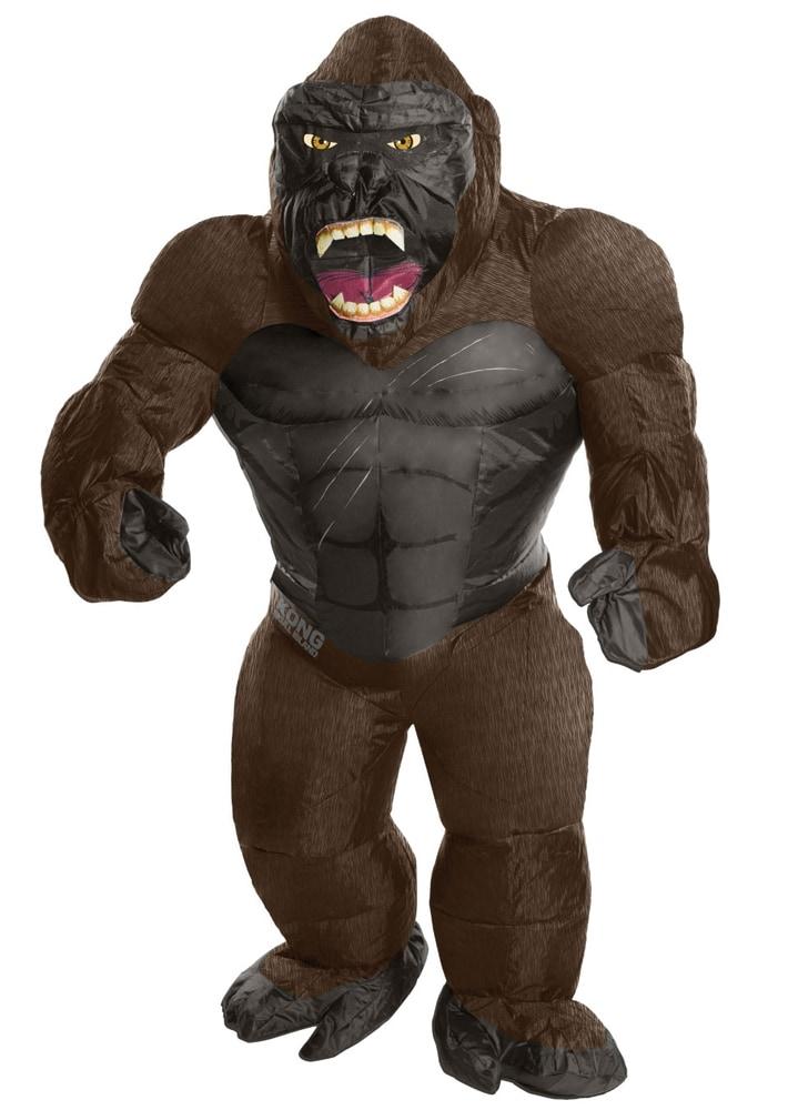 b227df19721 King Kong Oppustelig Kostume Voksen