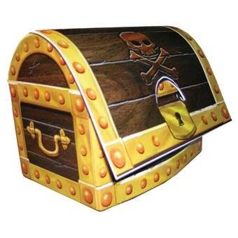 7054ddf8 Pirates Treasure, Borddekoration 3D skattkista