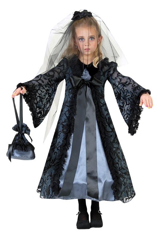 e42f0ec8 Zombie Bride med slør Kostume